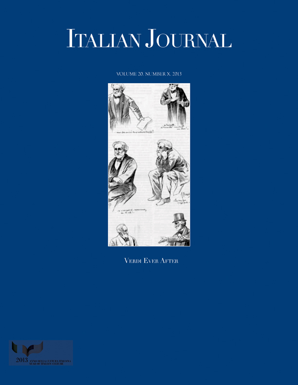 Italian Journal 10: Verdi Ever After