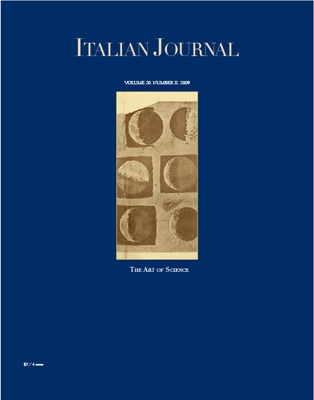 Italian Journal 2: The Art of Science