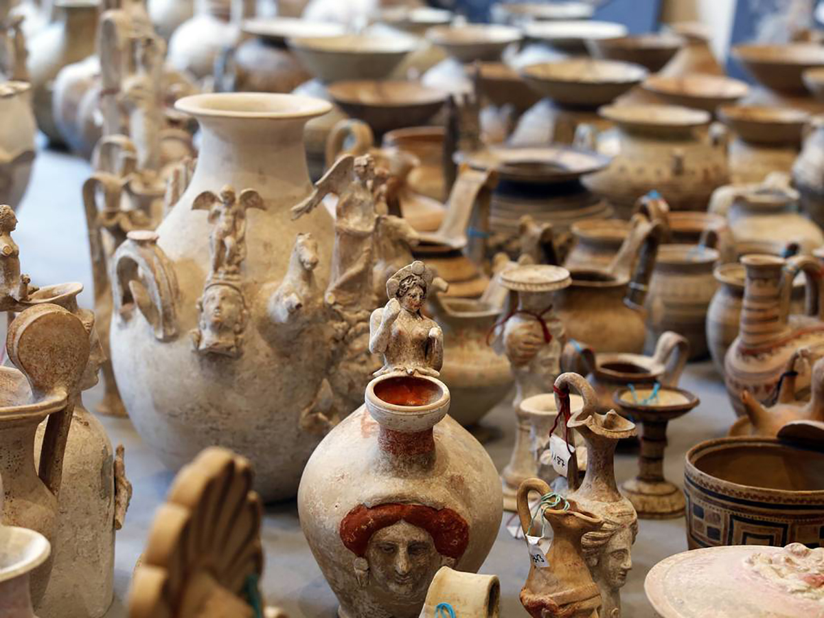 Largest Amount of Stolen Italian Artifacts Recovered